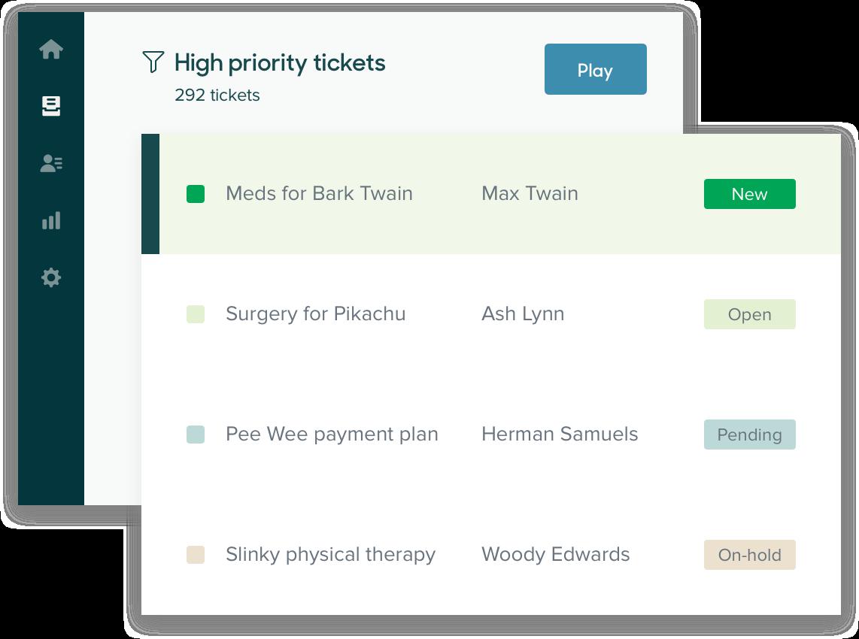 Zendesk ticketing system